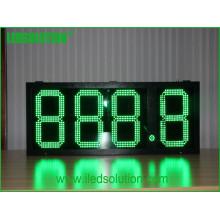 Los dígitos de la fuente de fábrica 888.8 los dígitos de 15inch dan formato a la pantalla LED del precio del gas