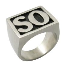 Fils de bijoux Anarchy Ring Steel Fashion So Ring