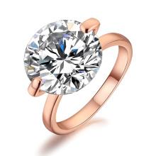 Luxo Brilhante Grande Solitário Diamante Guardanapo Anel para casamento decoração diamante material de casamento