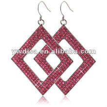 2012 Hot Sale Beautiful Square Stainless Steel Earring With Factory Price