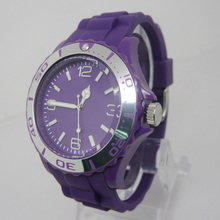 New Environmental Protection Japan Movement Plastic Fashion Watch Sj073-8