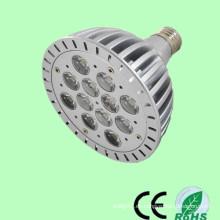 Precio de fábrica de CE / RoHs Ra> 80 alta luz 12w / 13w / 14w PAR38 e27 llevó la luz del punto, bulbos de flor para la venta
