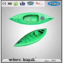 Non Kayak gonflable Simple plastique Sit in Sport Kayak
