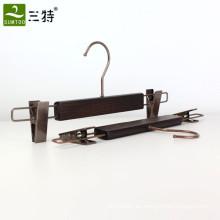 clips de ceniza de madera pantalones perchas