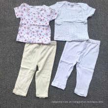 Roupas de bebê Set Pijamas Kids Apparel Stock