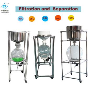 ZF-10L Lab scale nutsche filter dryer