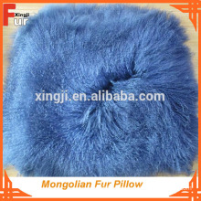 Home Decoration for sofa Mongolian Fur Cushion