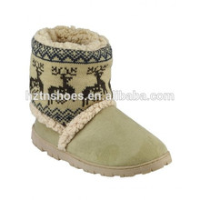 New design fashion low price casual snow woman boot