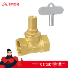 Fashion design Standard CW617N brass material Magnetic control valve/Magnetic Stop valve with lock and good quality in TMOK