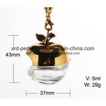Vente chaude Apple forme bouteille de parfum vide