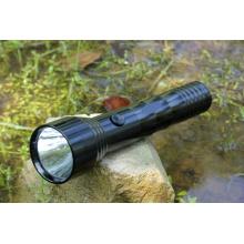 2xd Batt Middle Switch Single Modes Lampe de poche en aluminium (666)