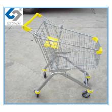 Metallrahmen-Einkaufshandlaufkatze mit 80L