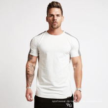 Herren Kurzarm Muscle Tech T-Shirt