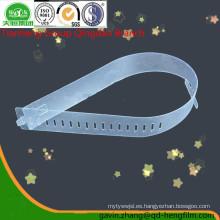 0.15-0.40mm Película rígida del PVC brillante para la inserción del collar