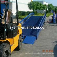 Commodity Regal, hydraulische Container-Entladung Rampen Verkauf