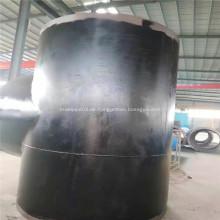 3PE-Beschichtung API 5L Pipeline-Stahlfittings-T-Stück