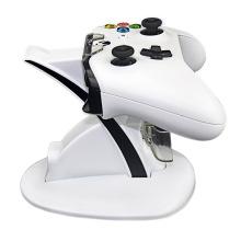 Le double chargeur de station d'accueil de chargeur de contrôleur se tiennent pour le mini-jeu de Xbox One S sans fil