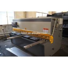 Design de guilhotina de qualidade superior Máquina de corte hidráulica CNC avançada com melhor preço