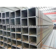 MS / tubo de acero rectangular negro / tubo