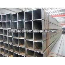 MS / tube d'acier rectangulaire noir / tuyau