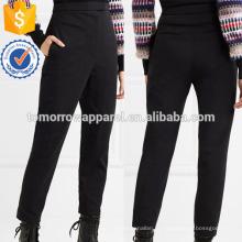 Стретч хлопка-смесь Саржа брюки стремя Производство Оптовая продажа женской одежды (TA3022P)