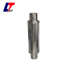 Performance  polished round exhaust car muffler  LT414200P