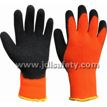 Acrylic Work Glove of Latex Coating on Palm&Thumb (LY2036T)