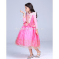 розовый цвет Спящая красавица autora платье дети принцессы платье для наряды