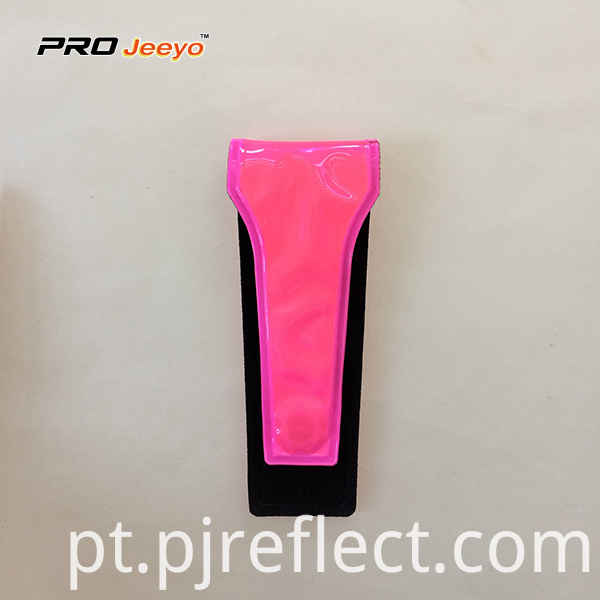Reflective Warning Pvc Pink Magnetic Clipcj Ccj001