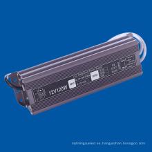 120W LED Driver para lámpara LED DC12V fuente de alimentación
