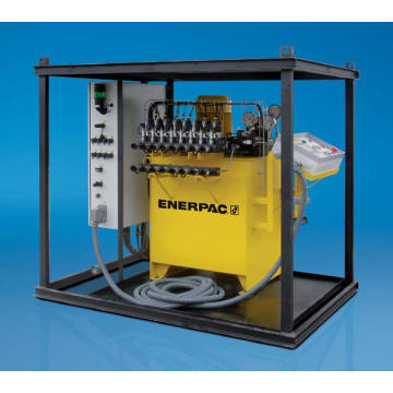 Original Enerpac Standard 4 to 16 Point Lifting System Ess-Series 8-Point Synchronous Lifting System