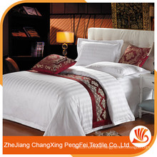 Wholesale 100% Polyester hotel bed sheet set with cheap price