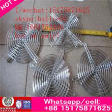 Atractivo y durable Venta caliente 120mm Metal Finger Grill + Fan Guard