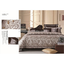 Jacquard Silk Like Embroidered Bedding Set Bed Linens Luxury