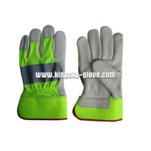 Hi Viz Cow Grain Leather Рабочая перчатка (3131)