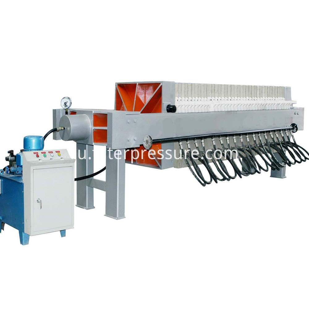 Coal Preparation Filter Press