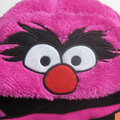 Kids Cute Embroidery Plush Trapper Hat
