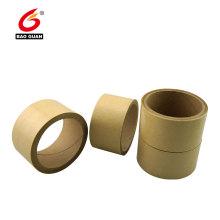 Cinta Kraft autoadhesiva reforzada con fibra de acrílico impresa personalizada Cinta de papel engomado para sellado y flejado