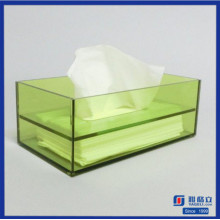 Top Verkauf Acryl Serviette Box Holder Tissue Box
