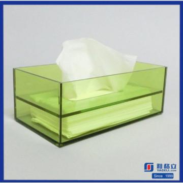 Top Verkauf Acryl Serviette Box Holder Tissue Box