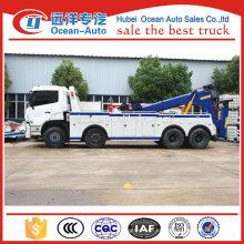 Novo dongfeng heavy duty rotator caminhão de reboque hidráulico