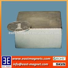 N52 50*50*25 super large block neodymium magnet for sale/ningbo east magnet block magnet for sale