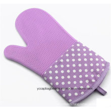 Promotion Heat Resistant Cotton & Silicone Oven Gloves