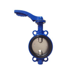 Best Feedback anti corrosion double flange butterfly valve