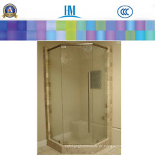 Painéis de vidro, vidro de folha desobstruído / porta interior do vidro / porta do vidro de chuveiro