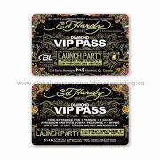 PVC VIP Card with Full Color Printing, Any Design or Logo Accepted