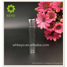 8 ml 10 ml 12 ml Vente chaude de haute qualité transparent couleur vide parfum emballage cosmétique verre rouleau sur la bouteille