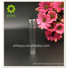 8ml 10ml 12ml Hot sale high quality transparent colored empty perfume cosmetic packaging glass roll on bottle