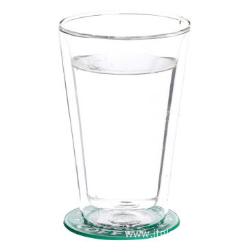 Leading for Double Wall Glass Water Cup Double Wall Thermal Glass Cups For Water export to Uzbekistan Suppliers