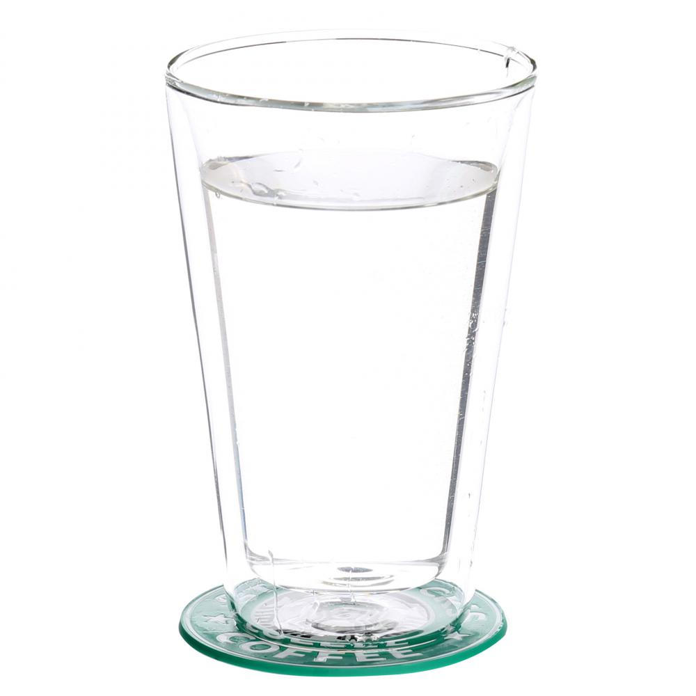 Double Wall Thermal Glass Cups For Water